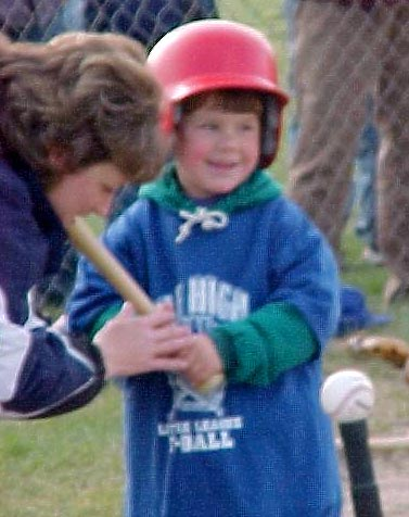 Jeremy at T-Ball